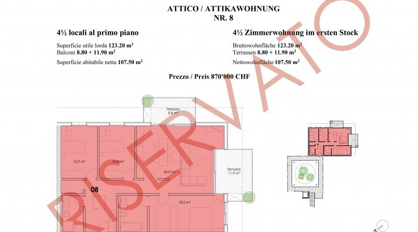Appartamento NR.8 _ Residenza Il Patio