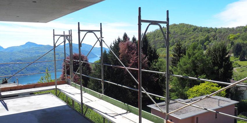 CADEMARIO: Bellissimo Attico 4½ locali con vista lago