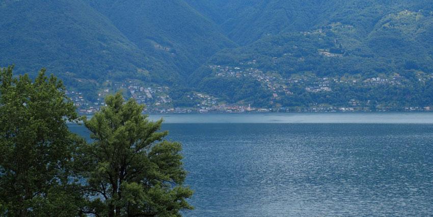 MINUSIO: magnifico Appartamento di 4½ locali con stupenda vista lago e giardino