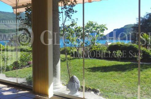 MORCOTE Magnifico appartamento con vista lago e piscina