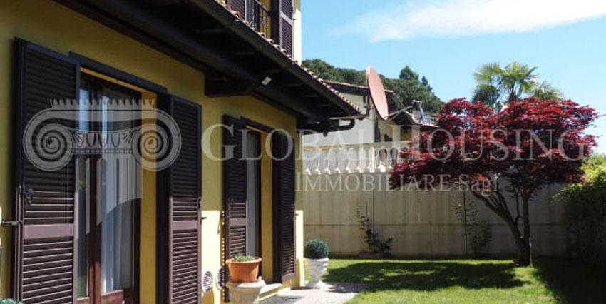 PONTE TRESA: Incantevole casa con giardino