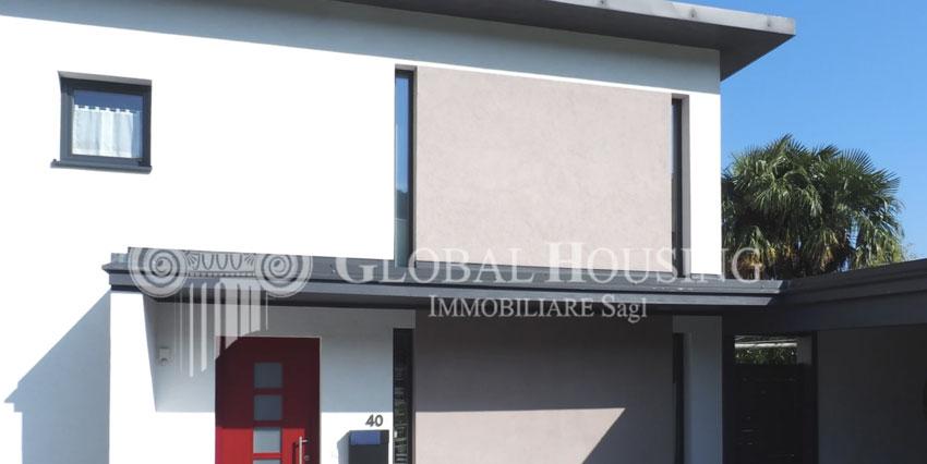PURA: Stupenda casa moderna con vista lago