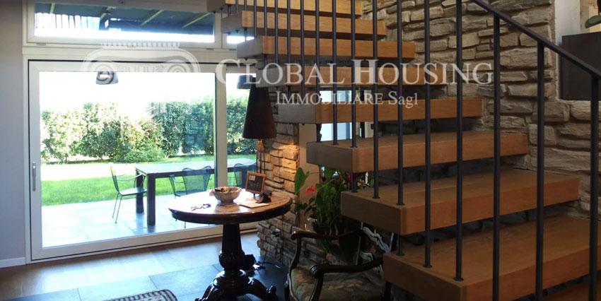 PURA: Casa moderna con giardino nel vecchio nucleo