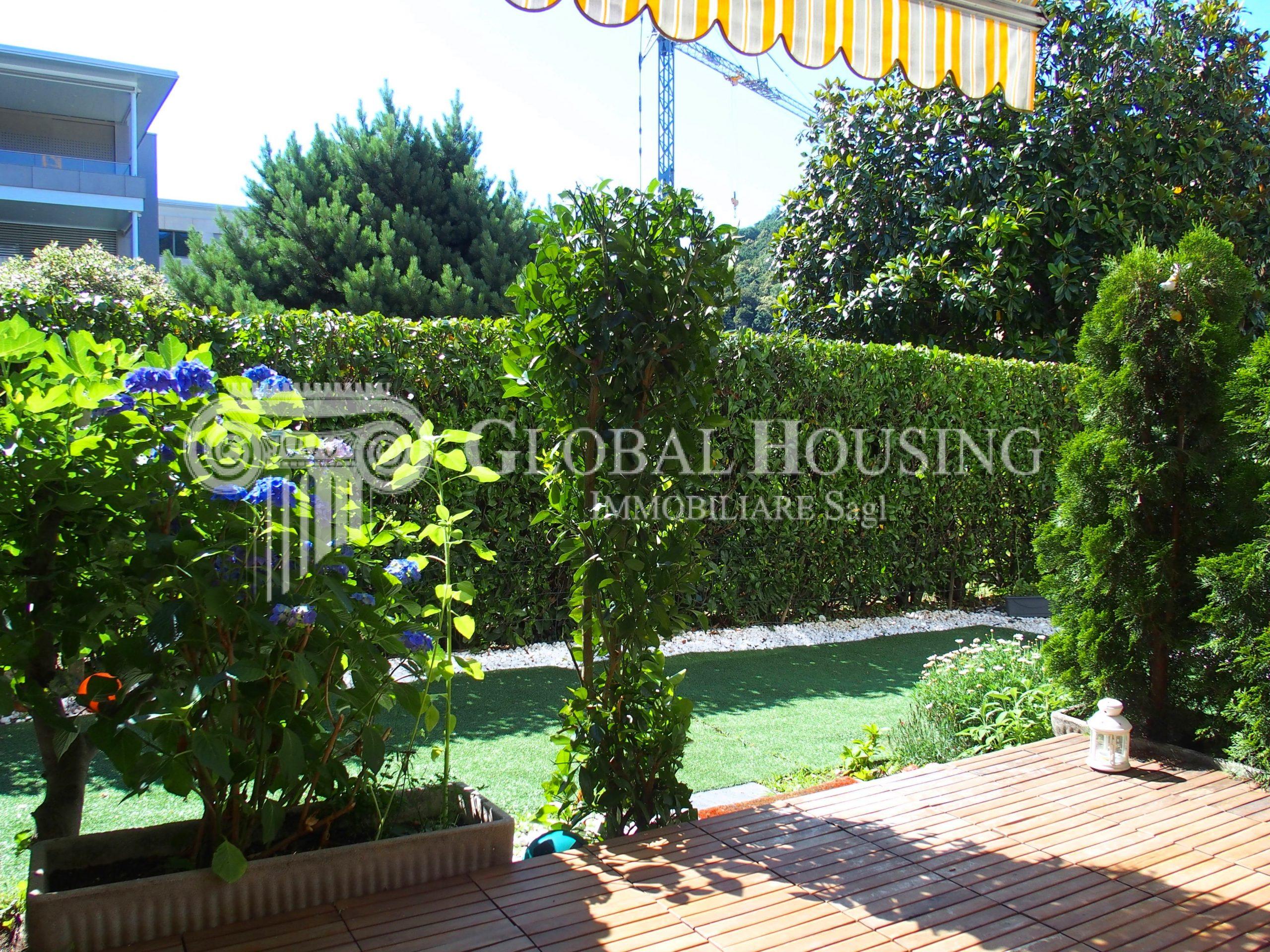 CASLANO: Comodo appartamento con giardino di 4½ locali