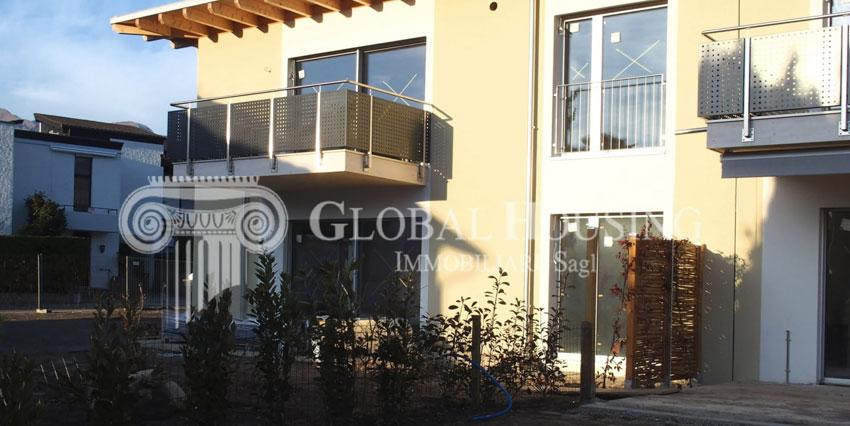 CASLANO: Nuovissimo appartamento di 3½ locali con giardino