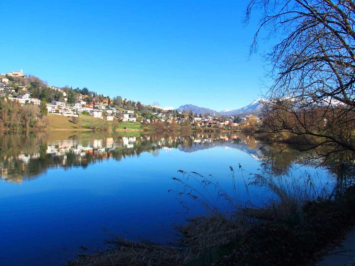 GENTILINO: Appartamento sul lago di Muzzano